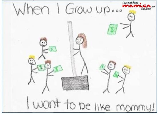 desen Tema copilului la desen