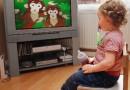 Televizorul si copiii mici
