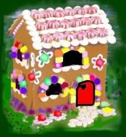 casa de turta dulce 184x200 Hansel si Gretel