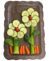 flori din legume 160x200 Cum il convingi sa manance legume