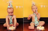 copil 1 an mananca tort 200x133 Alimentatia copilului de 1 an