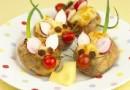Soricei din cartof copt (12 luni)