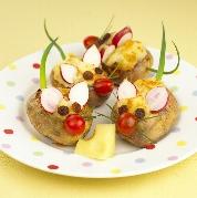 soricel din cartof copt Soricei din cartof copt (12 luni)