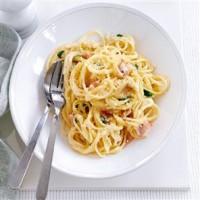 spaghetti carbonara 200x200 Spaghetti Carbonara (18 luni)