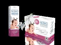 NOSKO Set + spray 1 200x148 Aspiratorul nazal, o solutie la racelile bebelusului