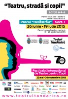 Afis Program 2015 HERASTRAU 2 138x200 Incepe Festivalul International Teatru, strada si copil!