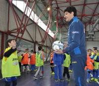 DSC 0261 200x174 Cupa Tymbark Junior: Elevii se întrec din nou în cea mai mare competiție dedicată micilor fotbaliști